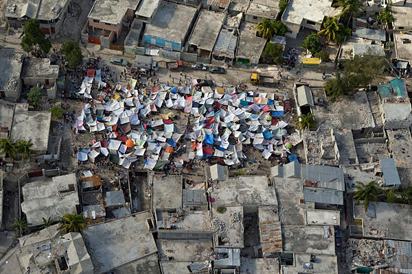 Haiti after the 2011 earthquake (Christian Science Monitor)