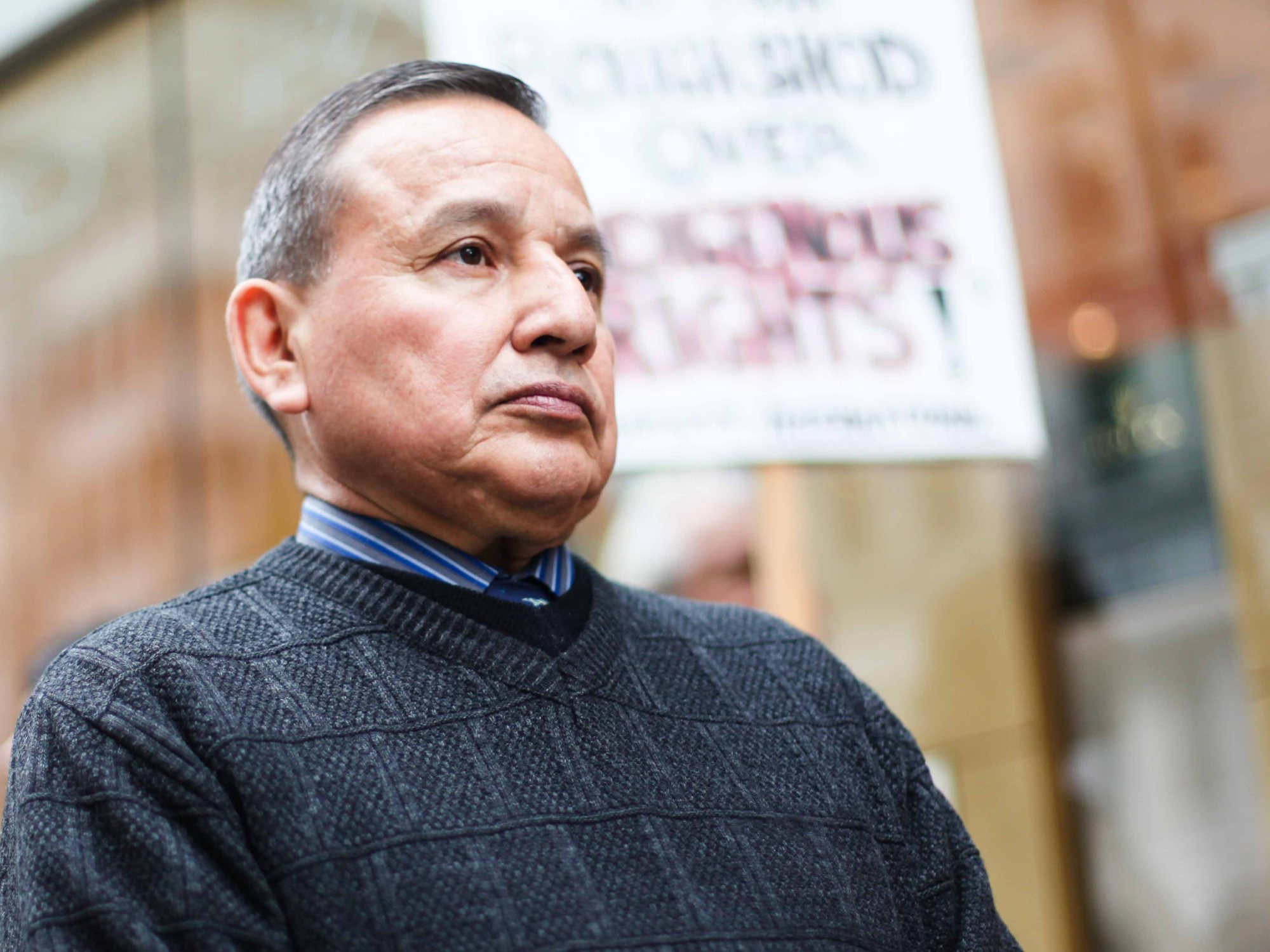 grand chief stewart phillip sam pollard on two trains runnin independent canadian radio news hour straight best of vancouver award you re guaranteed to hear things that will never crack the mainstream
