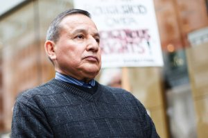 UBCIC Grand Chief Stewart Phillip. Photo by David P. Ball