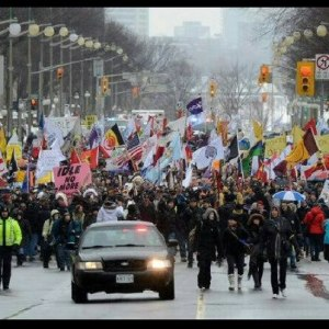 Idle No More #J11 Photo by:  Ann Marie Proulx