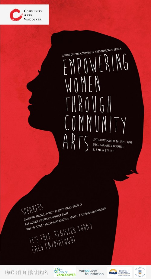 Empowering Women Through Community Arts - image Community Arts Vancouver