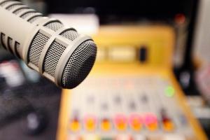 Media Mornings broadcast studios at Vancouver Co-op Radio 100.5fm