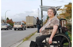 Jill Weiss -  Chair of the City of Vancouver Persons with Disabilities Advisory Committee  Photo - Vancouver Courier
