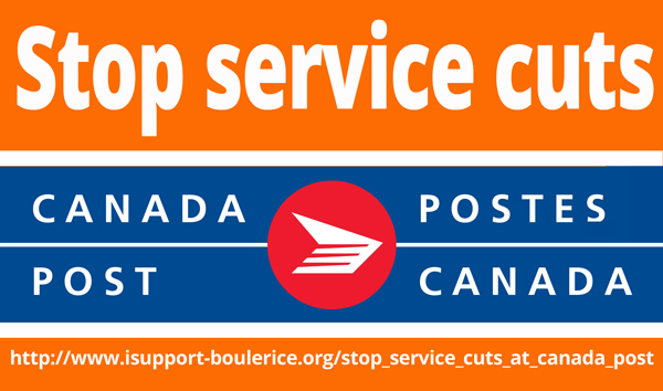 Image - http://www.isupport-boulerice.org/stop_service_cuts_at_canada_post