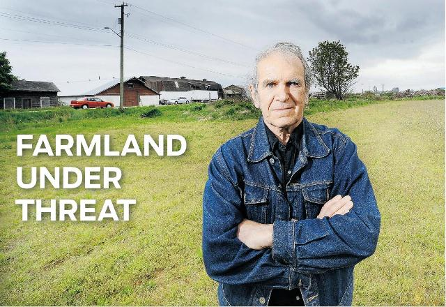 Richmond City Councillor, Farmer, Activist - Harold Steves. Photo - www.thewestcoastreader.com