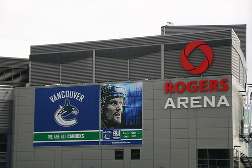 Almost 1,000 workers at Vancouver's Rogers Arena have learned the Canucks have terminated their jobs. Image: rabble.ca