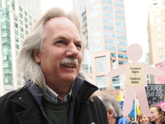 Jim Iker - President, BC Teachers Federation. Photo: vancourier.com