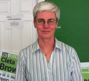 Janet Fraser - Vancouver Green Party Trustee  Image: CBC