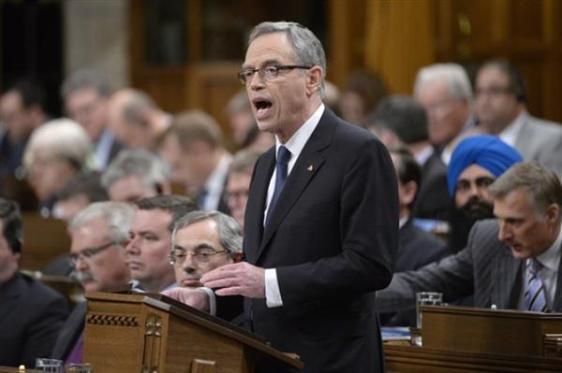 Federal Finance Minister - Joe Oliver Image - Global