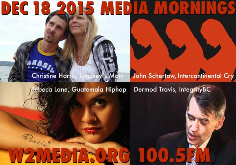 Dec 18 Media Mornings