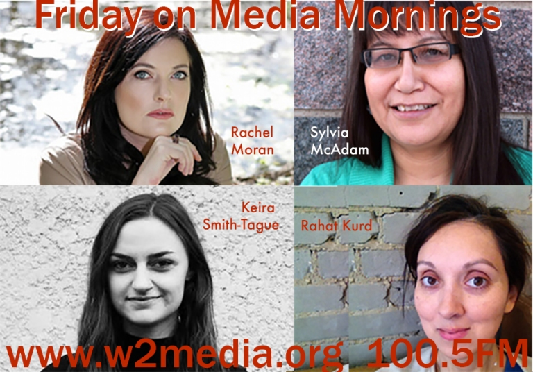 4 guests on Friday Dec 4 Rachel Moran, Sylvia McAdam, Rahat Kurd, Keira Smith-Tague