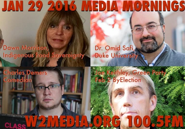 Jan 29 2016 Media Mornings