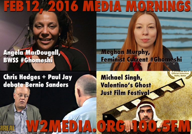 Feb 12 2016 Media Mornings