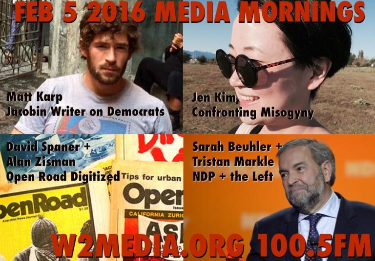 Feb 5 2016 Media Mornings