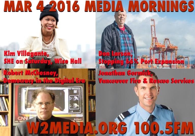 Mar 4 2016 Media Mornings