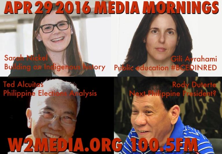 Apr 29 2016 Media Mornings