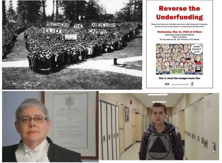 Clockwise from Upper Left: Mother's Day Heart 1935; Rally May 11;  Milan Halikowski; barbara findley