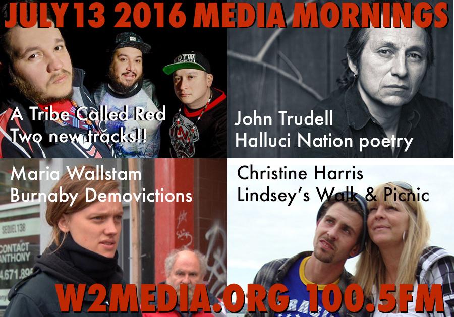 July 13 2016 Media Mornings