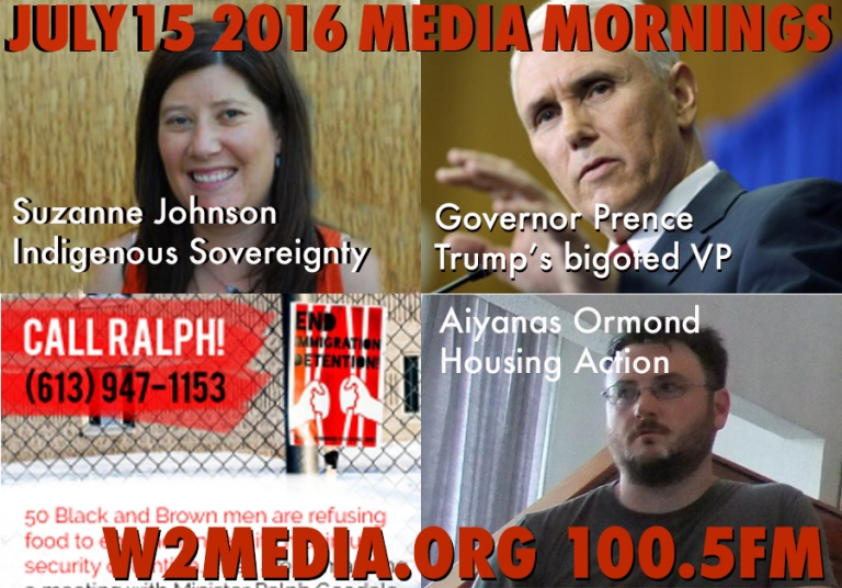 July 15 2016 Media Mornings