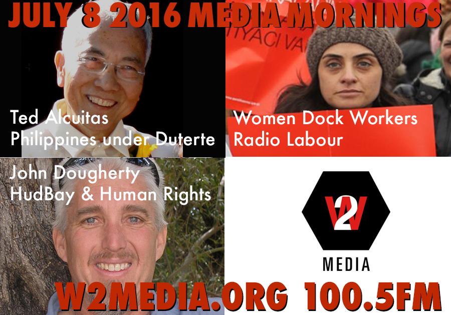 July 8 2016 Media Mornings